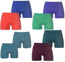 SLAZENGER Lot 2 Boxers Caleçons Short Coton Homme Sous-Vêtements