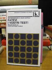 FATEVI I VOSTRI TEST! - W. BERNARD; J. LEOPOLD(N13)