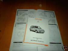 Body Repair Manual Fiat Cinquecento 1997 on
