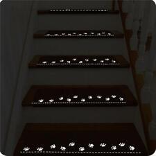 Non-slip Stair Mats Carpet Treads Step Rugs Rome Hotel Luminous Pad 54x26cm W