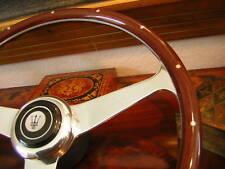 MASERATI BITURBO QuatroPorte  Nardi Wood Steering Wheel NOS NEW