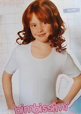 BIMBISSIMI. 3x T-shirt, Maglietta Bimba, mezza manica Caldo cotone 100% - TM311B