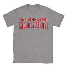 Training For My Next Marathon Mens T-Shirt Netflix Funny Movie Gift Present
