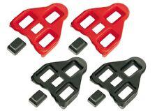 Pedalplatten für Look Delta, Cleats in 0° und 9°, Schuhplatten
