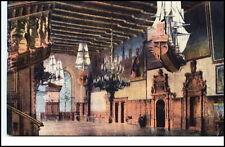 BREMEN um 1920 Schiffe an der Decke vom Rathaus Saal Postkarte ungelaufen AK PK
