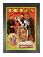Houdini Milk Churn 2 Hongrois Born Américain Illusionniste Stunt Performer Poste