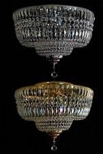 couvrir Lustre avec véritable cristal (or sans argent), correspondant