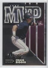 1998 Leaf Rookies & Stars MVP Pennant Edition #12 Craig Biggio Houston Astros