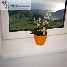 Kunststoff Fensterbank innen Fensterbrett Weiß PVC inkl. Endkappen TOP PREIS