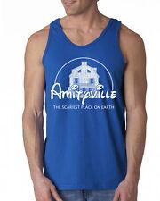 354 Amityville Scary movie Tank Top funny halloween costume horror film new