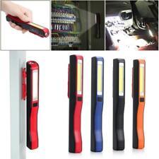 Multifunction COB LED Torch Magnetic Pocket Pen Clip Work Light Lamp 4 Color