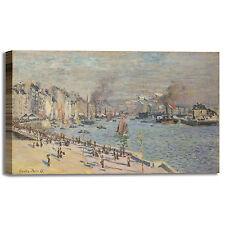 Monet porto di Le Havre design quadro stampa tela dipinto telaio arredo casa