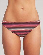 Lepel Isis Classic Bikini Brief Swimwear Summer Black Pink Stripe V Sizes NEW