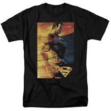 Superman Fireproof DC Comics Adult Shirt S-3XL