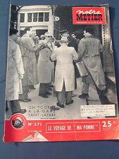 Notre métier 1950 271 QUIBERON éTEL MOET ET CHANDON éPERNAY MAURICE CHEVALIER