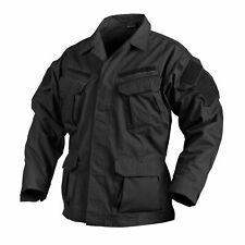 Helikon Sfu NEXT shirt campo Camicia Giacca Nero Black Ripstop Uniform bl-sfn-pr-01