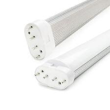 2G11 4 Pin Base 22W LED Light Bulb 4000K Natural White 85-265V Horizontal Plug