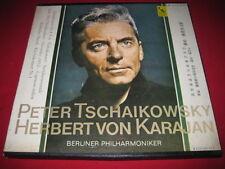 RARE CLASSICAL LP BOX SET TSCHAIKOWSKY KARAJAN LARGE WORLD LW-602 JAPAN LIBERTY