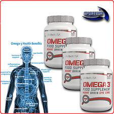 BioTech Omega 3 fish oil 90/180/270 capsule in softgel EPA+DHA con vit.E omega3