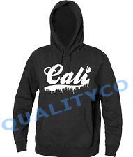 New Melting Cali Fire Black Hoodie ca swag hip hop rap dope diamond sweatshirt