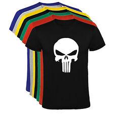 Camiseta El Castigador Punisher Marvel Hombre varias tallas y colores a021