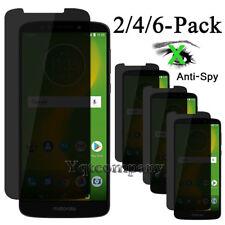 For Motorola Moto E5 Plus/ E5 Supra Privacy Tempered Glass Screen Protector Film