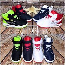 """Coole KINDER Highcut AIR Sportschuhe / Sneakers mit Klettverschluss """"BASKETBALL"""""""