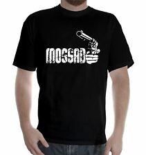Zahal Mossad Idf Servicio Militar T Shirt Israel Army Funny Revolver municiones agente