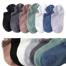 Mens No Show Socks Low Cut Invisible Non Slip Cotton Boat Liner Sneaker Socks