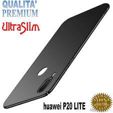 CUSTODIA COVER TPU ULTRA SLIM OPACA per Huawei P20 LITE +Vetro PREMIUM