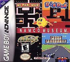 Namco Museum ( Nintendo Game Boy Advance) SP DS Lite pac man dig dug pacman