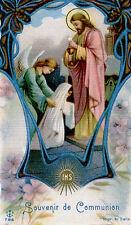 SANTINO HOLY CARD SOUVENIR PRIMA COMUNIONE