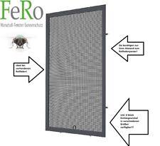 Fliegengitter- Fenster- Insektenschutz- Alu- Anthrazit RAL7016 Rolläden + Falz