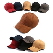 Wildleder Suede Mqum Herren Damen Basecap Mütze Baseball Cap Kappe Trucker Hüte