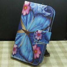 1x Grand papillon Housse Etui Coque Wallet Flip case cover pour Divers téléphone
