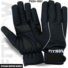 Hiver thermiques cyclisme plein doigts gants mtb coupe-vent palm gant de protection