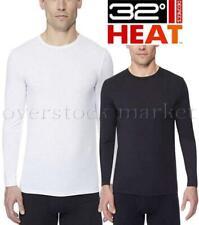 New Weatherproof 32 Degrees Heat Men's Performance Base Layer Crew Neck Top Soft