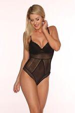 Sexy Beautiful Women's Mesh Lace Bodysuit Black  S, M , L, XL