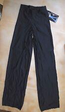 NWT Motion Wear 7152 Antron Nylon Wide Leg Jazz Pants Black Medium Ladies