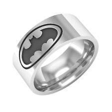 Stainless steel Batman ring size 6-13 Stylish fashionable sleek band dc comics