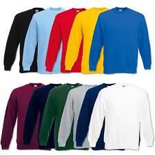 Fruit of the Loom Sweatshirt Set-In Herren Pullover Pulli Gr. S M L XL 2XL 3XL