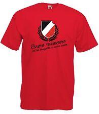 T-shirt Maglietta J1727 Essere Rossonero mi ha Insegnato a Essere Uomo Milan