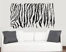 Tiger Print - Wall Art Vinyl Stickers African Africa Transfer Murals Decals