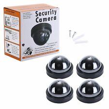 Dummy Fake Camera Surveillance CCTV Safe Security Dome Camera Flashing LED Light