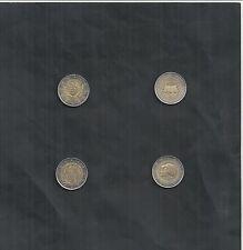 2 €/5 C monedas especiales Países Bajos 2001-2014, a la selección, banco frescos, sello brillo
