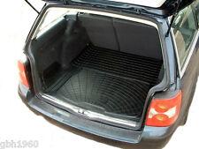 VW Passat Estate 96-06 black rubber boot cover load liner dog mat bumper guard