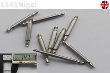13mm Montre Ressort Bande Barres Bracelet Lien Broches Réparation Horloger (Pack