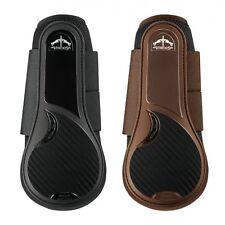 Veredus TRC VENTO Professional BRUSHING Splint Showjumping Boots Black/Brown M/L