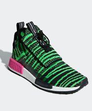 Adidas Originals Nmd TS1 PK Primeknit Boost Black Green Shoe Mens 11.5 Or 12 NIB