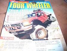 Four Wheeler Aug 2004 Slick Rockin' in MOAB